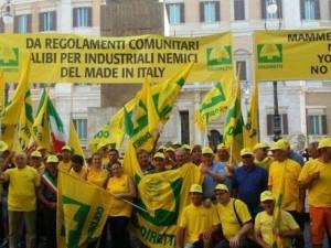 Manifestazione produttori
