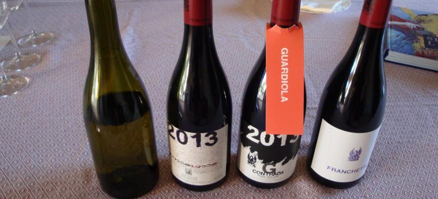 Etna: quattro vini stellati nella fucina del vulcano