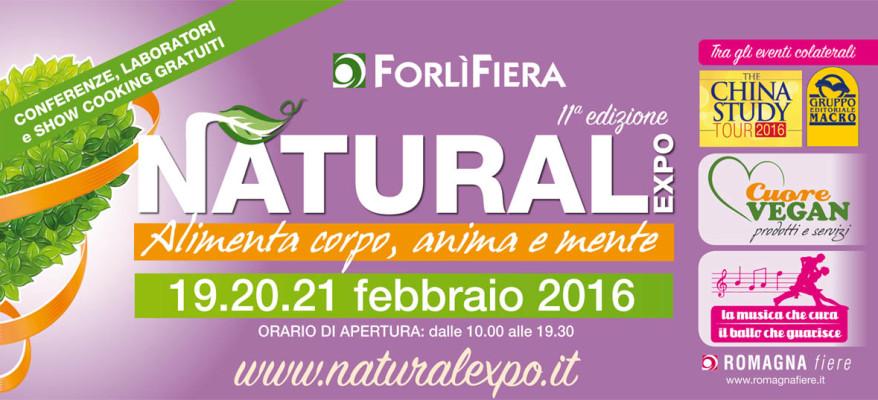 Natural Expo: al via la fiera del benessere naturale
