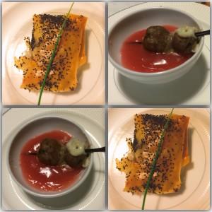 Due piatti di Madame Fromage
