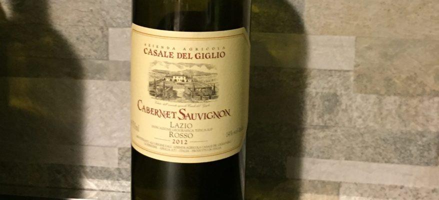 Il Cabernet Sauvignon di Casale del Giglio: un mix riuscito di pienezza e vigore