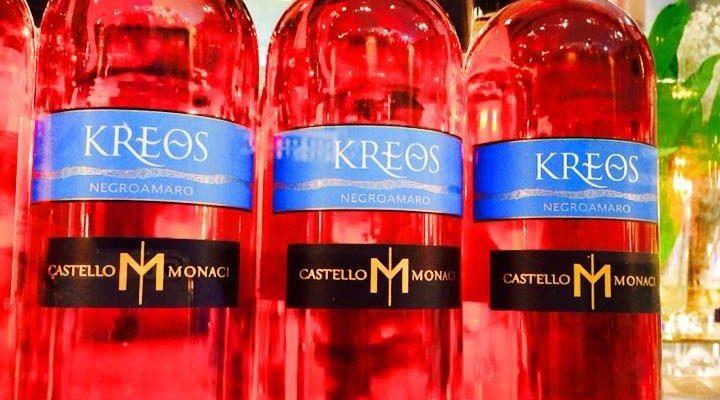 """Kreos 2015: rosato """"dalle dita di corallo"""""""