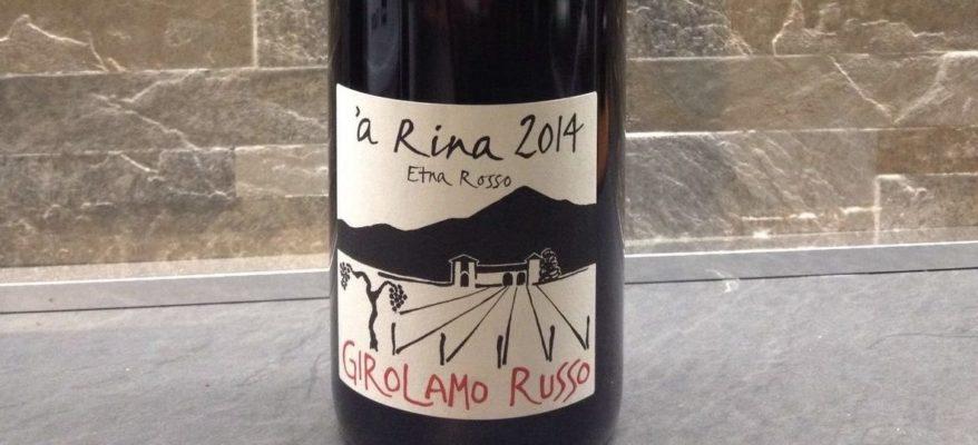 Girolamo Russo: degustazioni al top dell'Etna