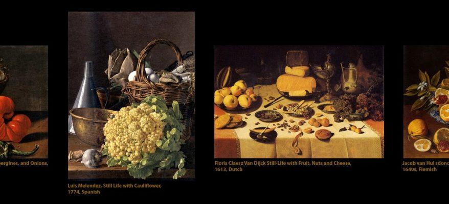 Il cibo nei dipinti: quanta realtà c'è nell'arte?