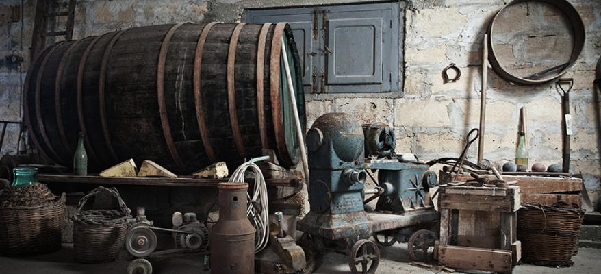 Feudo Ramaddini: il Magazzino del vino con vista sul mare di Marzamemi