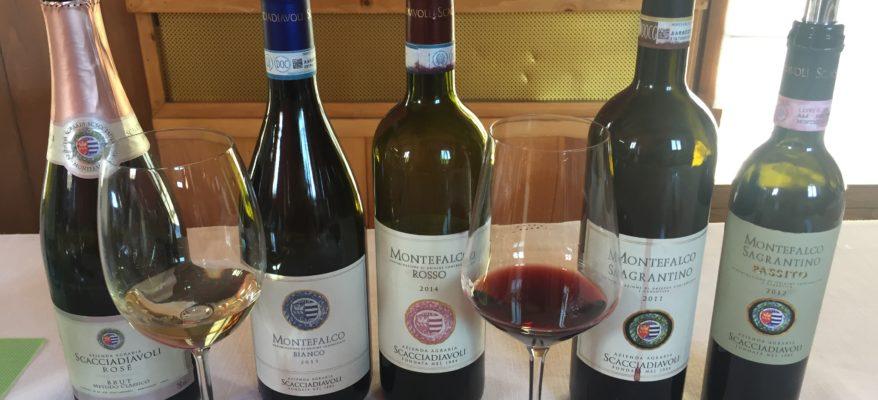 I vini della cantina Scacciadiavoli: il Montefalco antico e nuovo