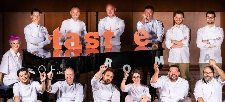 Taste of Roma: l'alta cucina a portata di tutti