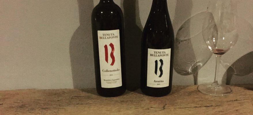 Tenuta Bellafonte: due vini raffinati e moderni