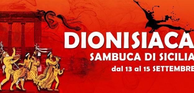 Dionisiaca: arti a Sambuca per festeggiare il dio del vino