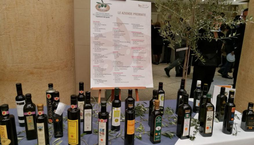 Gli orii del Lazio. I vincitori del concorso dell'olio
