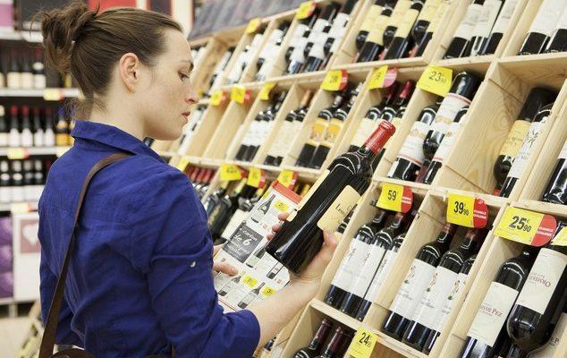 Supermercati, dopo il picco dell'anno pandemico, attesa per il mercato del vino 2021